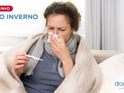 O Inverno chegou! Proteja-se de gripes e resfriados