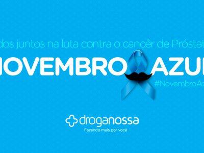 Novembro Azul – Luta contra o câncer de próstata